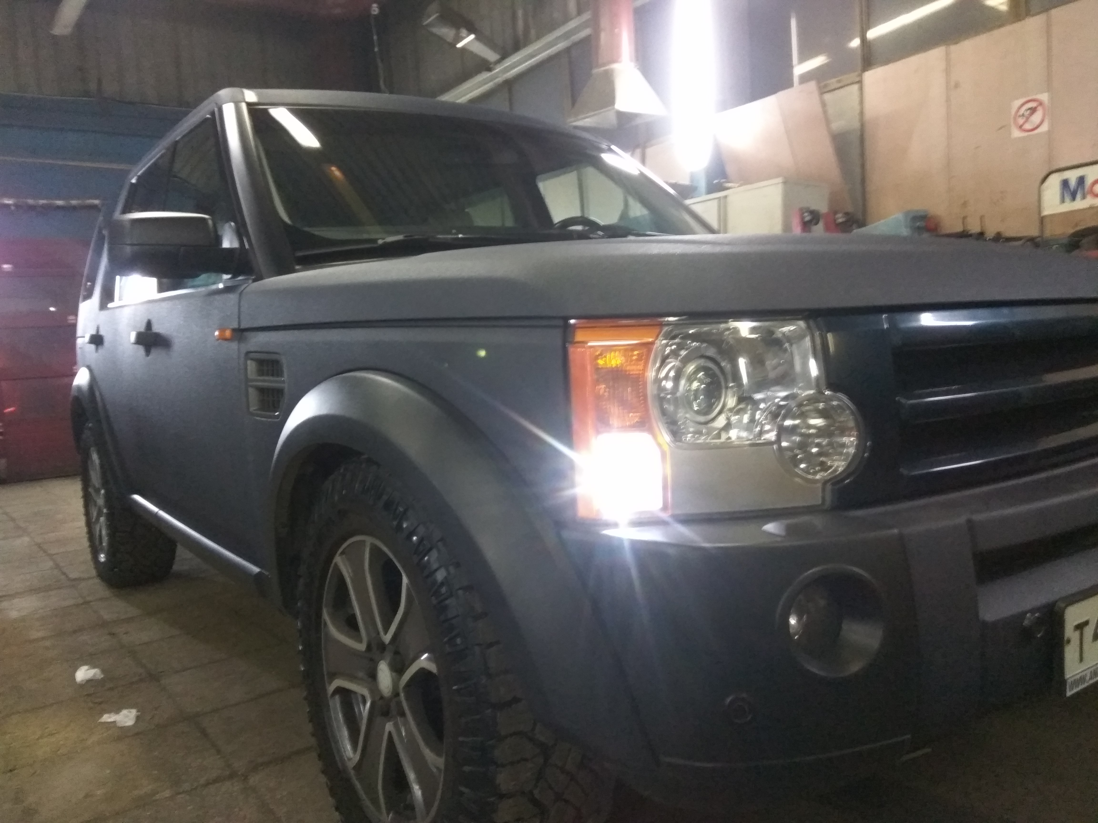 Land Rover Discovery 3 покраска RAPTOR